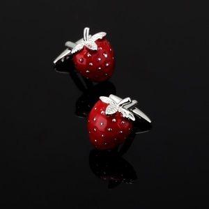 Other - Strawberry Cufflinks